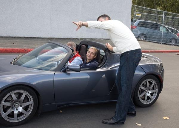 Tesla Motors Test Drive Seattle
