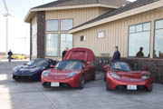 cars charging at Wild Horse